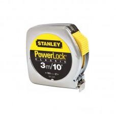Фото - Рулетка 3м (10`) х12.7мм Powerlock комбинированная с корпусом из АБС-пластика 0-33-203 Stanley
