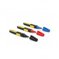 Фото - Маркеры в наборе FatMax® плоские со стойкими чернилами 3 шт (красный, синий, черный) 0-47-315 Stanley