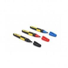 Фото - Маркеры в наборе FatMax® заостреные со стойкими чернилами 3шт. (черный, красный, синий) 0-47-322 Stanley
