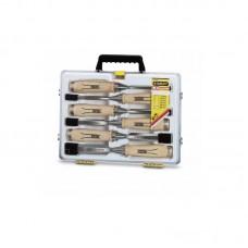 Фото - Набор стамесок 6 ед. Bailey™ с деревянной рукояткой (6, 10, 12, 16, 20, 25мм, кейс) 1-16-416 Stanley
