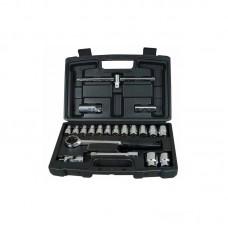 Фото - Набор инструментов 20 ед 1/2 (головки, вороток, трещотка, кардан) 1-94-650 Stanley