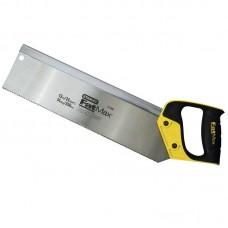Фото - Ножовка по дереву 350мм 13TPI пасовочная с обушком FatMax® закаленный 3-гранный зуб JET-CUT 2-17-202 Stanley