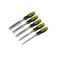 Фото - Набор стамесок 5 ед профессиональных FatMax™ (6,10,15,20,25 мм) 2-16-271 Stanley