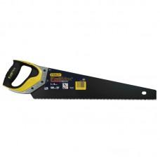 Фото - Ножовка по дереву 380мм 7TPI Апплифлон закаленный 3-гранный зуб JET-CUT 3-компонентная ручка 2-20-528 Stanley