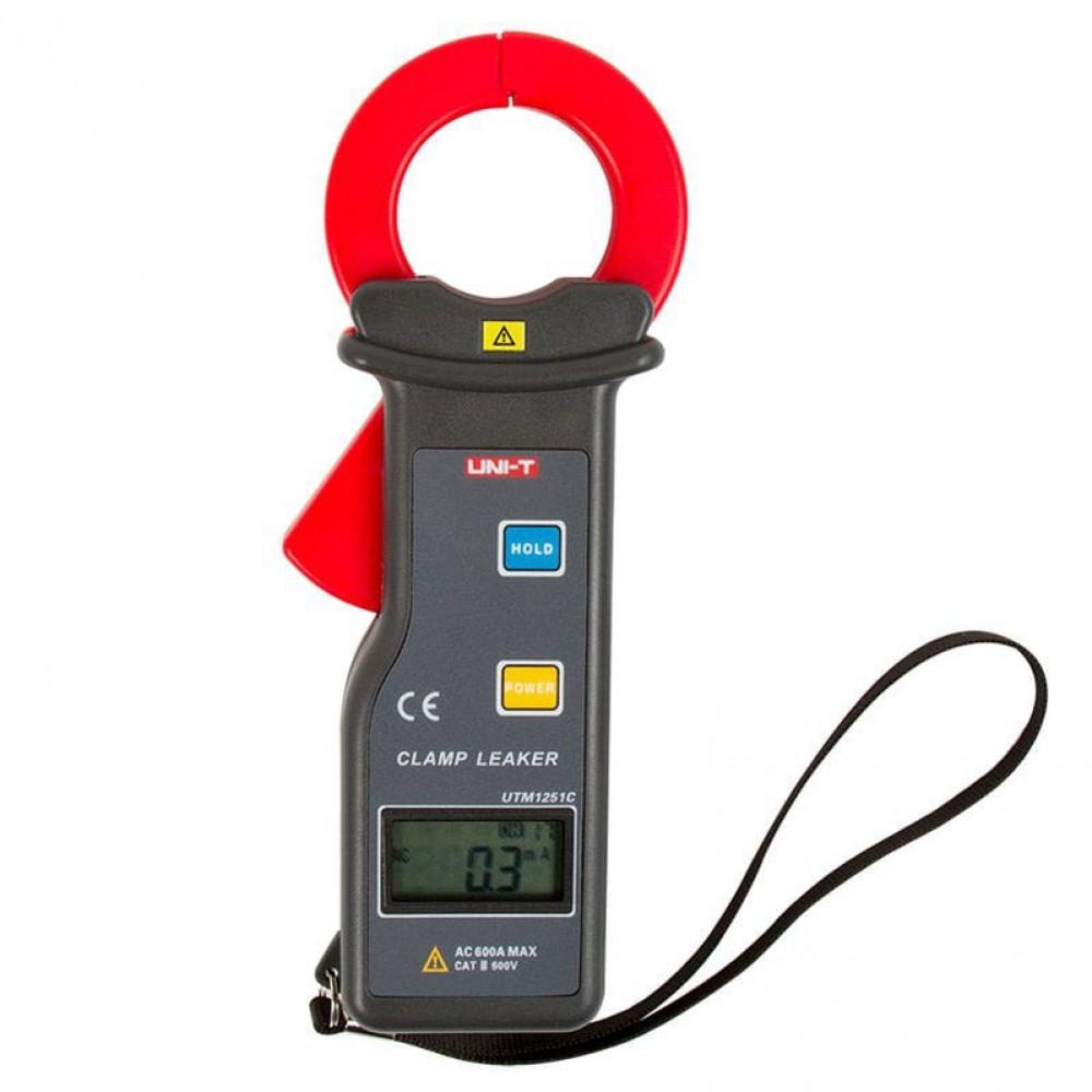 Фото №1 - Клещи для измерения токов утечки UNI-T UTM 1251С (UT251С)