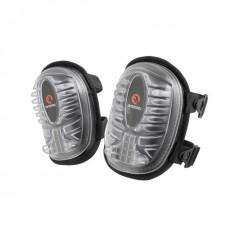 Фото - Наколенники защитные, противоскользящие накладки из ПВХ, ткань 600D, гелевые подушки, неопреновые ремни INTERTOOL SP-0052