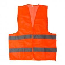 Фото - Жилет сигнальный оранжевый XL (60*70см), 60 гр/м2 INTERTOOL SP-2022