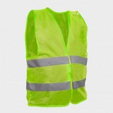 Фото - Жилет сигнальный зеленый XL (60*70см), 100 гр/м2 INTERTOOL SP-2023