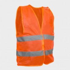 Фото - Жилет сигнальный оранжевый XL (60*70см), 100 гр/м2 INTERTOOL SP-2024