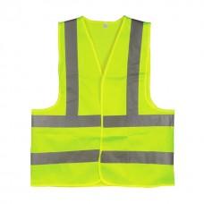 Фото - Жилет сигнальный зеленый XL (60*70см), 120 гр/м2 INTERTOOL SP-2027