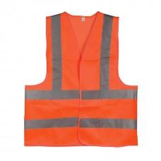 Фото - Жилет сигнальный оранжевый XL (60*70см), 120 гр/м2 INTERTOOL SP-2028