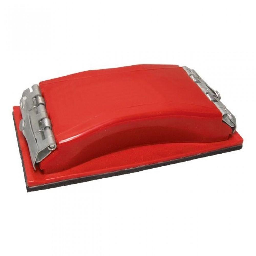 Фото №1 - Брусок для шлифования 100x210 мм, металлический зажим для быстрой и надежной фиксации INTERTOOL HT-0002