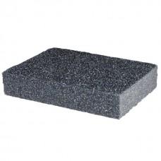 Фото - Губка для шлифования 100x70x25 мм, оксид алюминия К180 INTERTOOL HT-0918