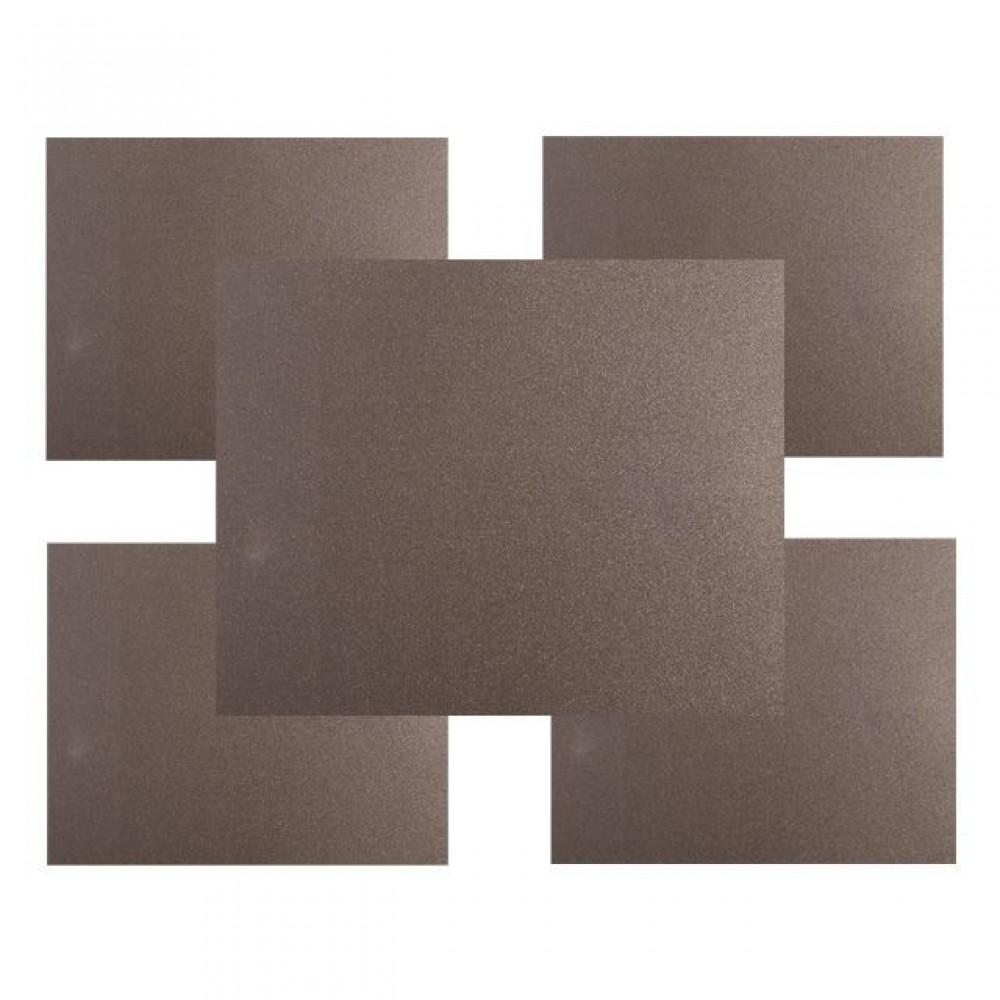 Фото №1 - Набор наждачной бумаги влагостойкой 15 шт (80.180.320) INTERTOOL HT-0031