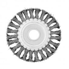 Фото - Щетка кольцевая 115x22,2 мм (пучки витой проволоки) INTERTOOL BT-7115