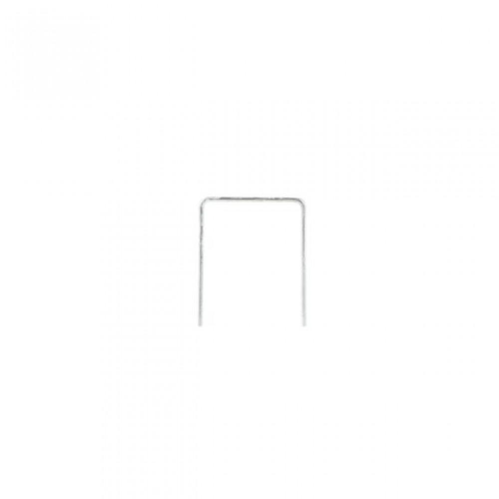 Фото №1 - Скоба каленая 14 мм, уп. 1000 шт., ширина 11,3x1,20 мм INTERTOOL RT-0154
