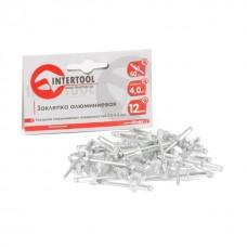 Фото - Заклепка алюминиевая 4,0x12 мм, упаковка 50 шт INTERTOOL RT-4012