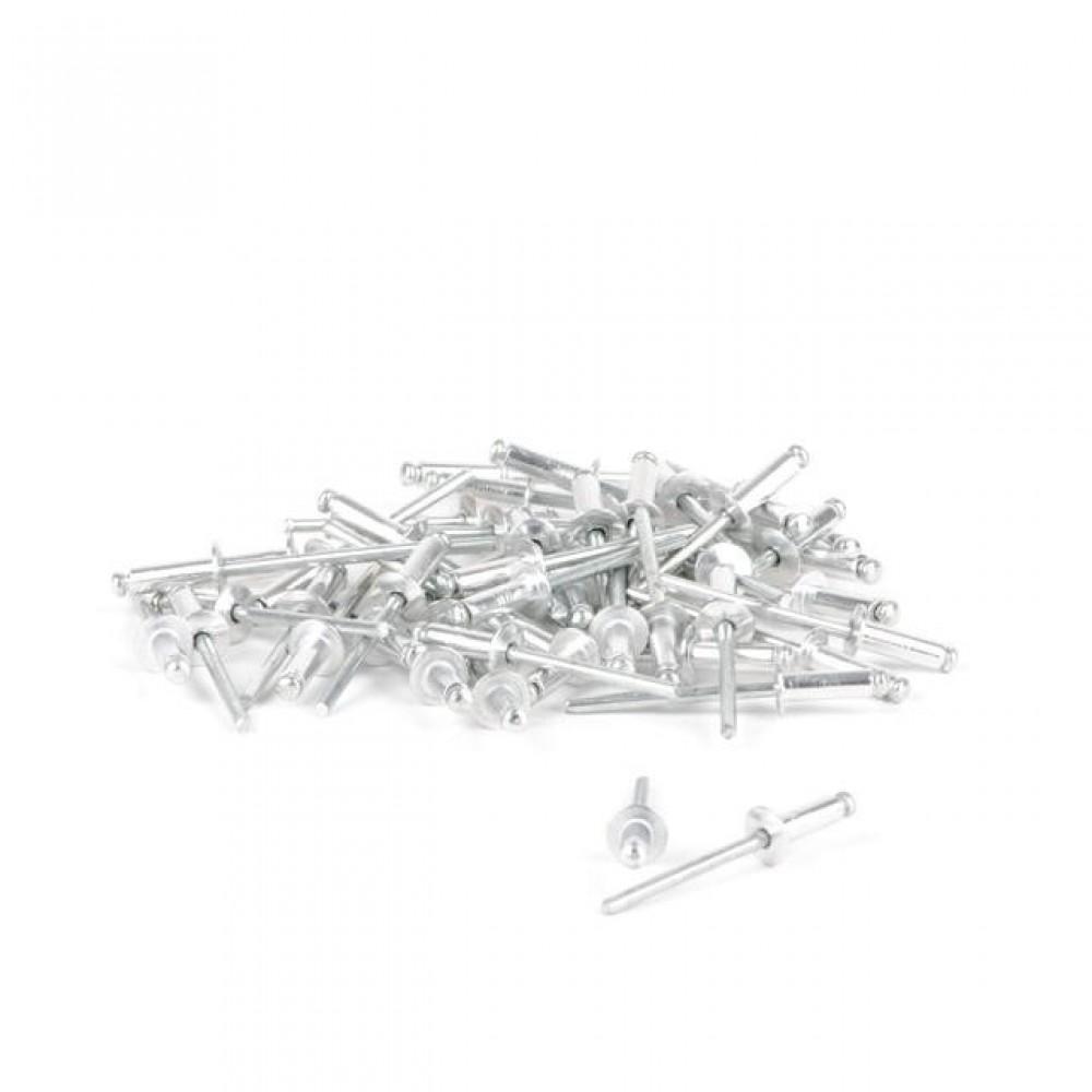 Фото №1 - Заклепка алюминиевая 4,0x14 мм, упаковка 50 шт INTERTOOL RT-4014