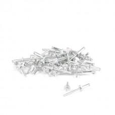 Фото - Заклепка алюминиевая 4,0x14 мм, упаковка 50 шт INTERTOOL RT-4014