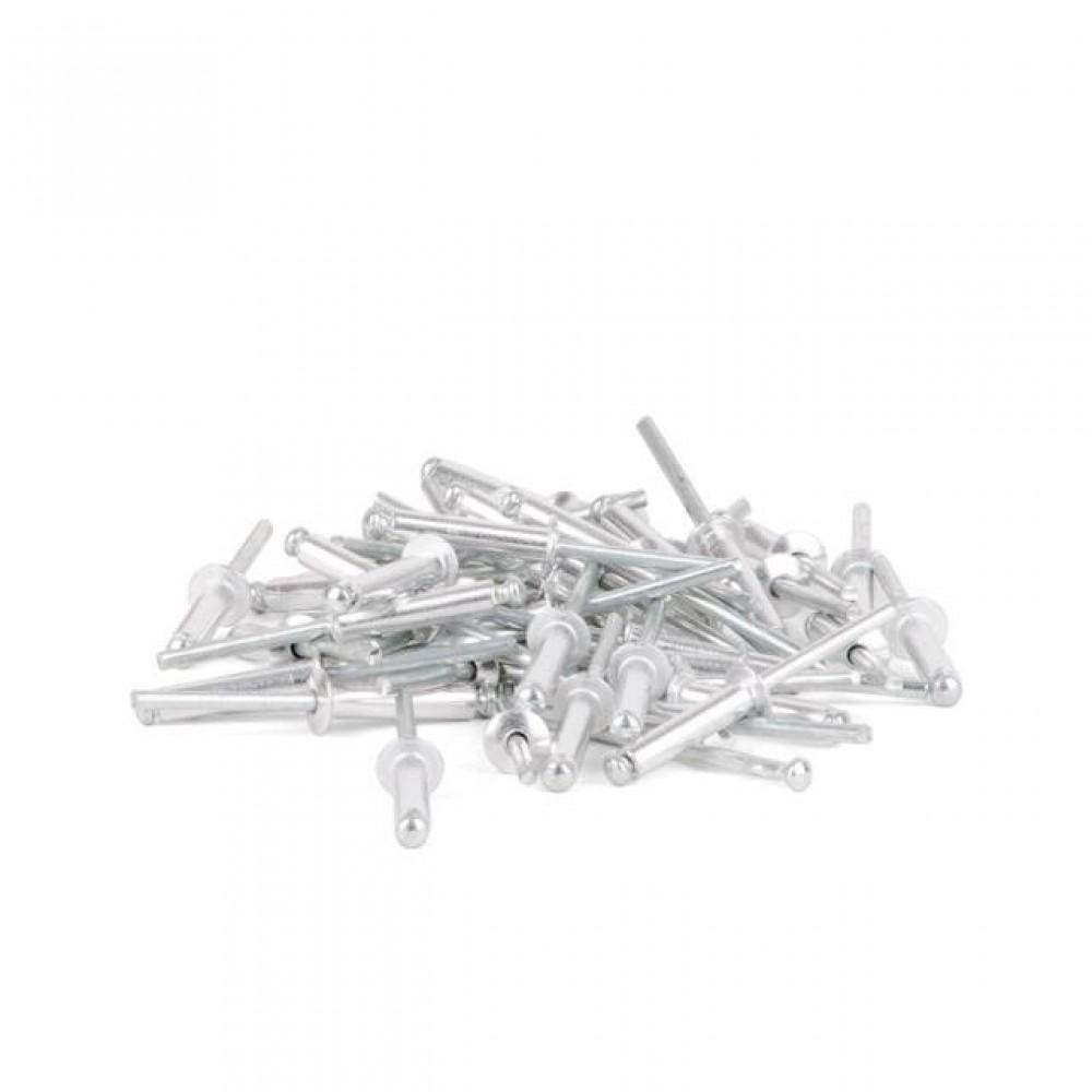 Фото №1 - Заклепка алюминиевая 4,8x22 мм, упаковка 50 шт INTERTOOL RT-4822
