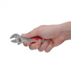 Фото - Ключ разводной 150 мм, изолированная рукоятка, никелевое покрытие INTERTOOL XT-0015