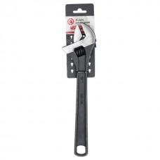 Фото - Ключ разводной 300мм, Cr-V, черный, фосфатированный, INTERTOOL XT-0062