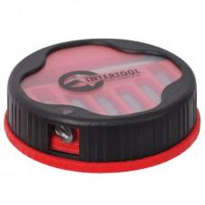 Фото - Комплект отверточных насадок 7 ед., (PH1, PH2, PH3, PZ1, PZ2, PZ3, магнитный держатель 1/4x60 mm.) INTERTOOL VT-5000