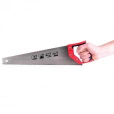 Фото - Ножовка по дереву с каленым зубом 450 мм, 55 HRC INTERTOOL HT-3102