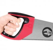Фото - Ножовка по дереву 450 мм с каленым зубом, 3-ая заточка 7 зуб.x1' INTERTOOL HT-3105