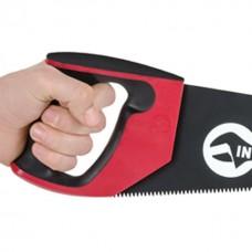 Фото - Ножовка по дереву 400 мм с тефлоновым покрытием, каленый зуб, 3-ая заточка INTERTOOL HT-3107