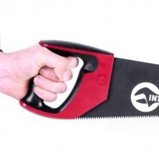 Фото - Ножовка по дереву 450 мм с тефлоновым покрытием, каленый зуб, 3-ая заточка INTERTOOL HT-3108