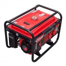 Фото - Генератор бензиновый макс мощн. 2,4 кВт., ном. 2,2 кВт., 5,5 л.с., 4-х тактный, ручной пуск 40,7 кг. INTERTOOL DT-1122