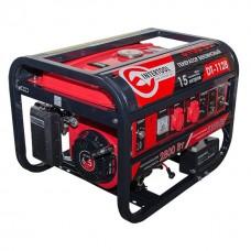 Фото - Генератор бензиновый макс мощн 3,1 кВт., ном. 2,8 кВт., 6,5 л.с., 4-х тактный, электрический и ручной пуск 51,7 кг. INTERTOOL DT-1128