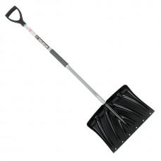 Фото - Лопата для уборки снега 460*340мм с Z-образной ручкой 1080 мм INTERTOOL FT-2023