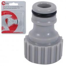 Фото - Адаптер для коннектора 1/2' с внутренней резьбой 1/2' INTERTOOL GE-1007