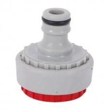 Фото - Адаптер универсальный для конектора 1/2' с внутренней резьбой 3/4' & 1' INTERTOOL GE-1111