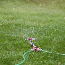 Фото - Дождеватель круговой с вращающейся головкой на костыле. PP, ABS INTERTOOL GE-0054