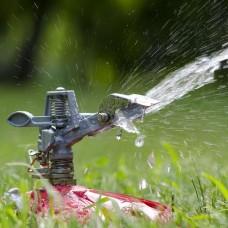 Фото - Дождеватель пульсирующий с полной/частичной зоной полива на базе, круг/сектор полива до 12 м, metal INTERTOOL GE-0074