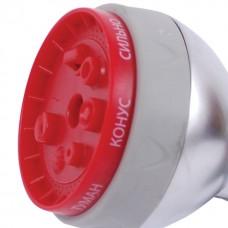 Фото - Пистолет-распылитель для полива 7-ми функциональный (центральный, туман, душ, угловой, полный, конический, плоский.) INTERTOOL GE-0009