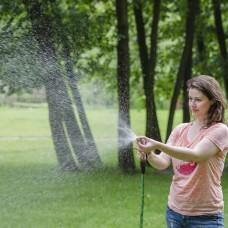 Фото - Пистолет-распылитель для полива с плавной регулировкой потока воды. ABS, PP, TPR, ZINC ALLOY, BRASS INTERTOOL GE-0012