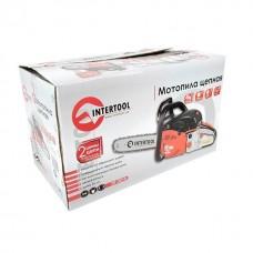 Фото - Мотопила цепная, 2.0кВт/2.7 HP, шина-45 см, цепь 3/8' INTERTOOL DT-2210