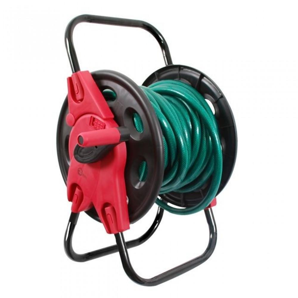 Фото №1 - Катушка для шланга 1/2' 45 м, PP, steel, ABS INTERTOOL GE-3005