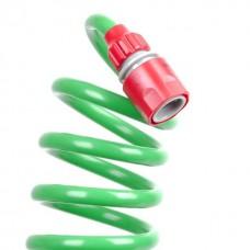 Фото - Шланг для полива спиральный 15 м с конекторами INTERTOOL GE-4002