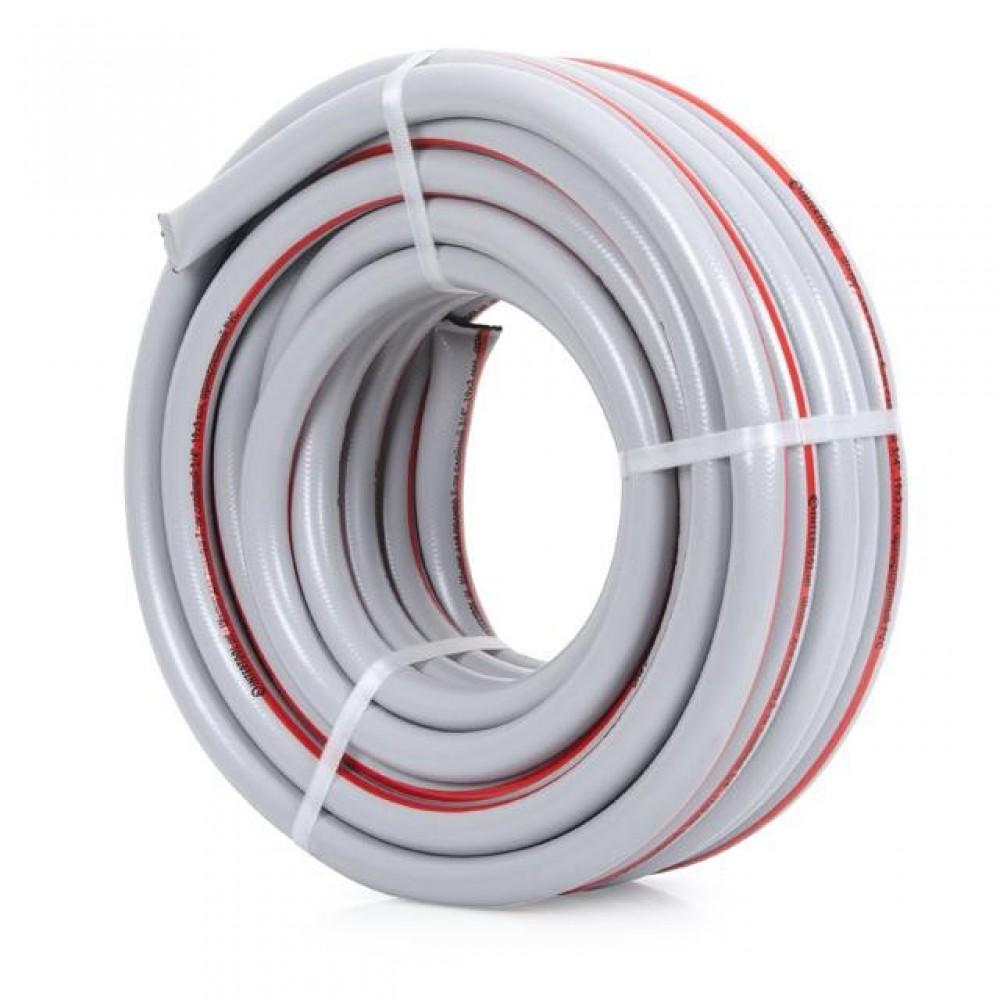 Фото №1 - Шланг для полива 5-ти слойный 3/4', 20м, армированный PVC INTERTOOL GE-4142