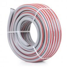Фото - Шланг для полива 5-ти слойный 3/4', 30м, армированный PVC INTERTOOL GE-4143