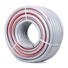 Фото - Шланг для полива 5-ти слойный 3/4', 50м, армированный PVC INTERTOOL GE-4145