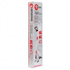 Фото - Триммер электрический 450 Вт, 900 об/мин, капроновая нить 1,6 мм, телескопическая ручка INTERTOOL DT-2241