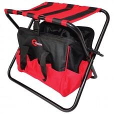 Фото - Складной стул с сумкой, универсальный до 90 кг 420 мм x 310 мм x 360 мм INTERTOOL BX-9006