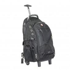 Фото - Рюкзак дорожный, 3 отделения, 30 л. на колесах с телескопической ручкой INTERTOOL BX-9024