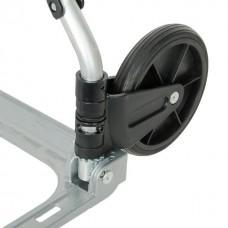 Фото - Тележка ручная складная до 60 кг, 450*420*960, колеса 150 мм, (алюминиевая) INTERTOOL LT-9005